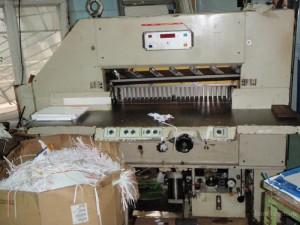 Производительность бумагорезальных машин.