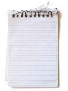 Бумажный лист.